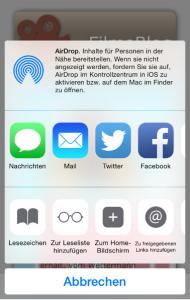 iphone app hinzufügen